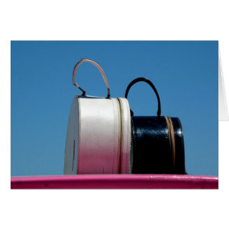 ピンクのスーツケース カード