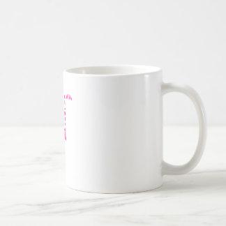 ピンクのタイポグラフィのフラミンゴ コーヒーマグカップ