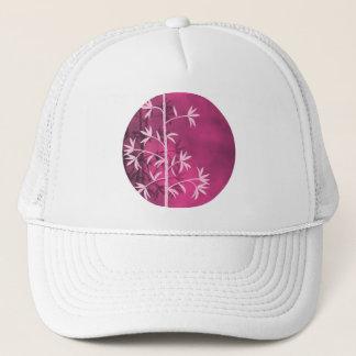 ピンクのタケ木 キャップ