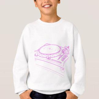 ピンクのターンテーブル スウェットシャツ