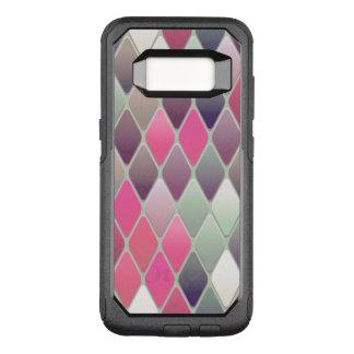 ピンクのダイヤモンドのモザイク オッターボックスコミューターSamsung GALAXY S8 ケース