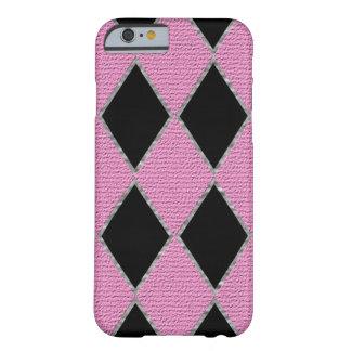 ピンクのダイヤモンドの輝きの携帯電話の箱 BARELY THERE iPhone 6 ケース