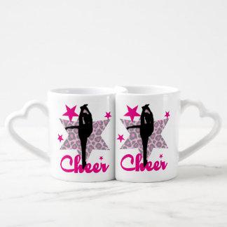 ピンクのチアリーダー ペアカップ