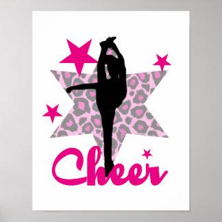 ピンクのチアリーダー ポスター
