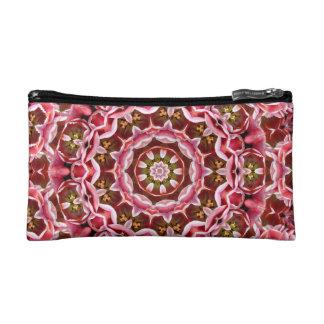 ピンクのチューリップ コスメティックバッグ