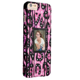 ピンクのチータの星はイメージを取り替えます BARELY THERE iPhone 6 PLUS ケース