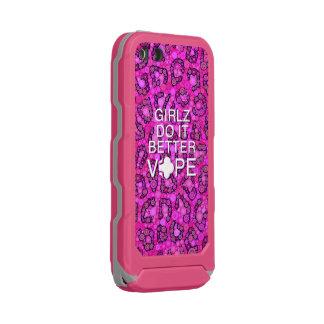 ピンクのチータガーリーなVape Incipio ATLAS ID™ iPhone 5 ケース