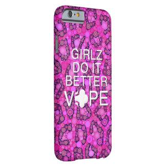 ピンクのチータガーリーなVape iPhone 6 ベアリーゼアケース