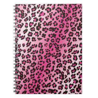 ピンクのチータ ノートブック