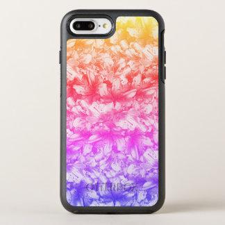ピンクのツツジによっては虹が開花します オッターボックスシンメトリーiPhone 8 PLUS/7 PLUSケース