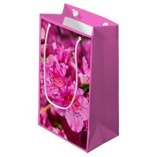 ピンクのツツジ スモールペーパーバッグ