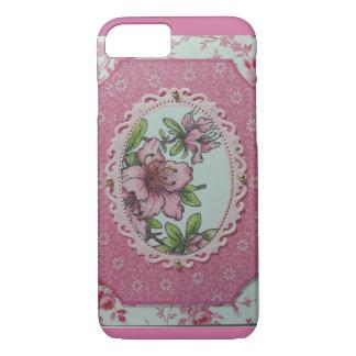 ピンクのツツジ iPhone 8/7ケース