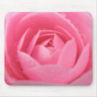 ピンクのツバキのマウスパッド マウスパッド