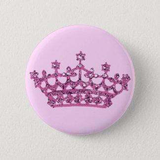 ピンクのティアラ 缶バッジ