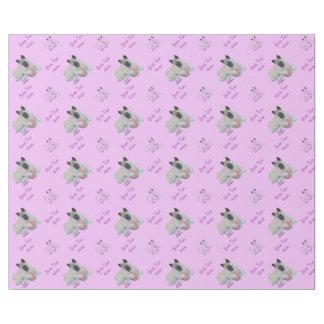 ピンクのテディー・ベアの芸術のかわいい日本語秋田 ラッピングペーパー