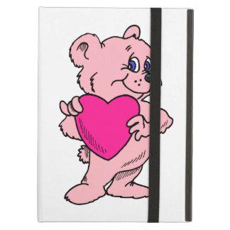 ピンクのテディー・ベア iPad AIRケース