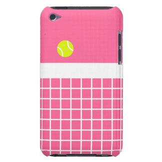 ピンクのテニスコート Case-Mate iPod TOUCH ケース