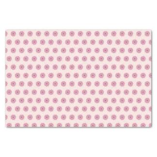 ピンクのデイジーのティッシュペーパー 薄葉紙