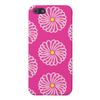 ピンクのデイジーの例 iPhone 5 ケース