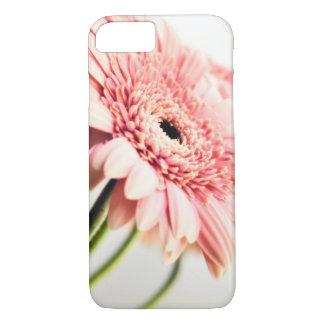 ピンクのデイジーの電話箱 iPhone 7ケース