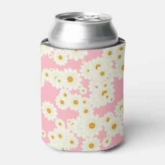ピンクのデイジー 缶クーラー