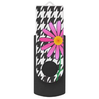 ピンクのデイジー USBフラッシュドライブ