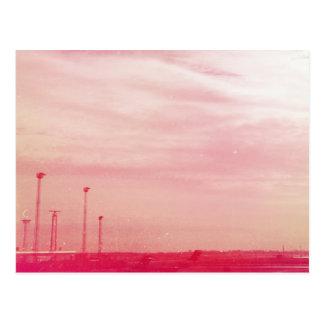 ピンクのデンマーク ポストカード