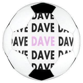 ピンクのデーブ サッカーボール