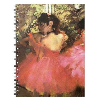 ピンクのノートのダンサーのガスを抜いて下さい ノートブック