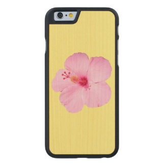 ピンクのハイビスカスの熱帯花 ケース