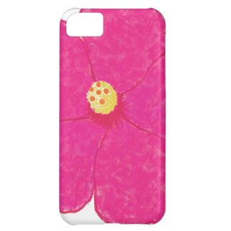 ピンクのハイビスカスの熱帯花 iPhone5Cケース