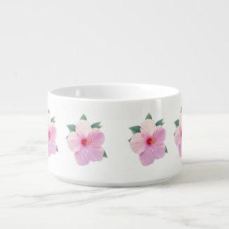 ピンクのハイビスカスの花 チリボウル