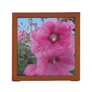 ピンクのハイビスカスの花 ペンスタンド