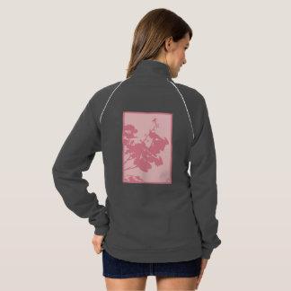 ピンクのハチドリのフリーストラックジャケット ジャケット
