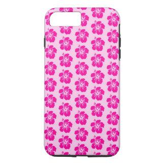ピンクのハワイのiPhone 7のプラスの電話箱 iPhone 7 Plusケース