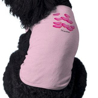 ピンクのハートの集りのバレンタイン ペット服