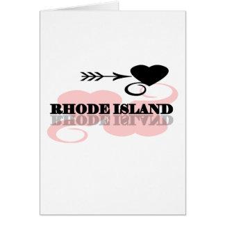 ピンクのハートロードアイランド カード