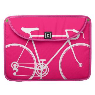 """ピンクのバイクのデザインMacbookプロ15""""ラップトップの箱 MacBook Proスリーブ"""