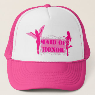 ピンクのバチェロレッテ キャップ