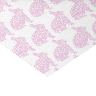 ピンクのバニーのギフト用包装紙のティッシュペーパー 薄葉紙