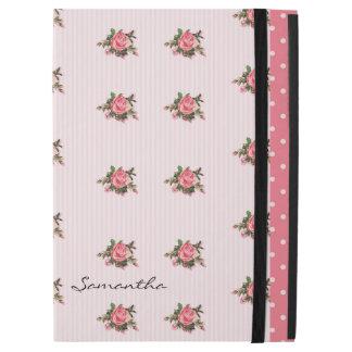 """ピンクのバラのカスタムなiPadのプロ場合 iPad Pro 12.9"""" ケース"""