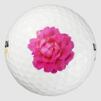 ピンクのバラのゴルフ・ボール ゴルフボール