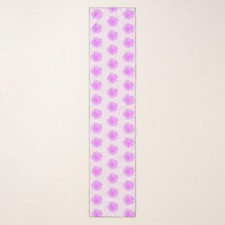 ピンクのバラのスカーフ スカーフ