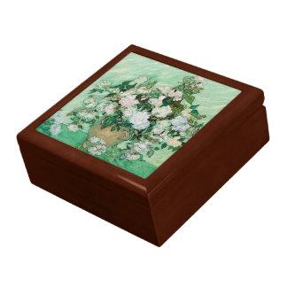 ピンクのバラのヴィンテージの花柄の芸術のゴッホのつぼ ギフトボックス