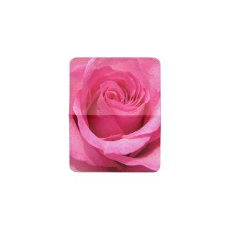 ピンクのバラの結婚式の写真 名刺入れ