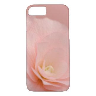 ピンクのバラの花柄 iPhone 7ケース