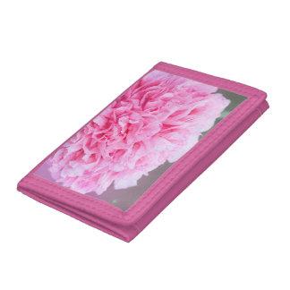 ピンクのバラの財布