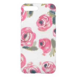 ピンクのバラのiPhoneの場合 iPhone 8 Plus/7 Plus ケース