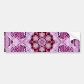 ピンクのバラ2013年1月 バンパーステッカー