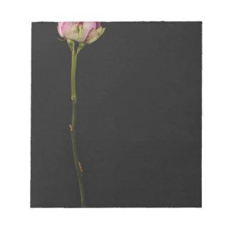 ピンクのバラ3 ノートパッド
